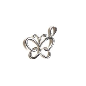 Stainless Steel Butterfly Charm